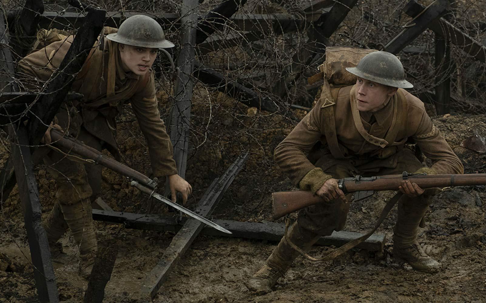 1917 is a harrowing war flick